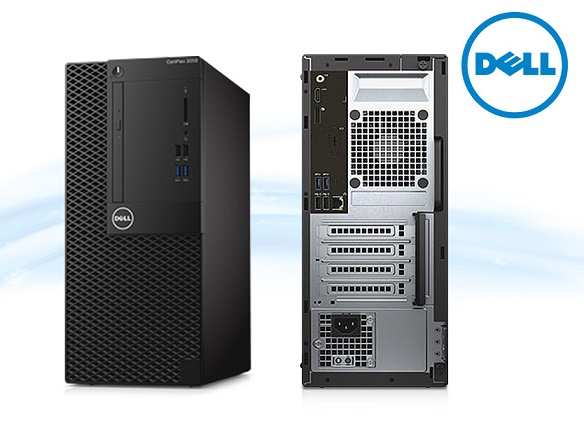 DELL Optiplex 3050MT (i3-7100,4GB,1TB,DVDRW,WIN10PRO)