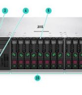 gambar Front View – SFF HP Proliant DL385 Gen10